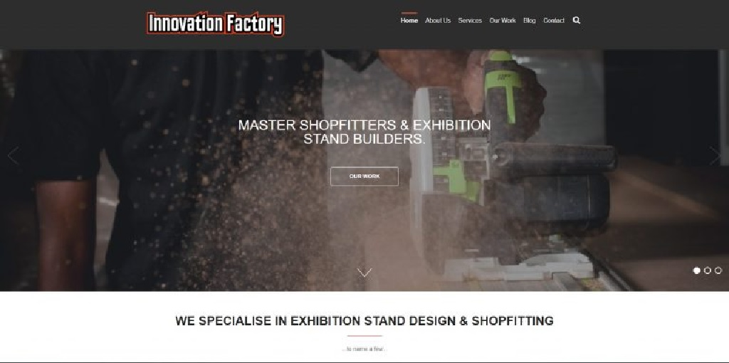 طراحی سایت کارخانه