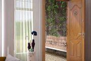 تمیزکردن درهای داخلی چوبی