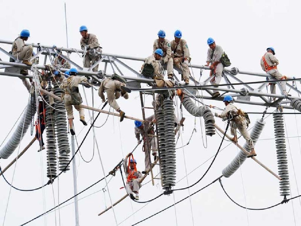 یراق آلات خطوط انتقال برق