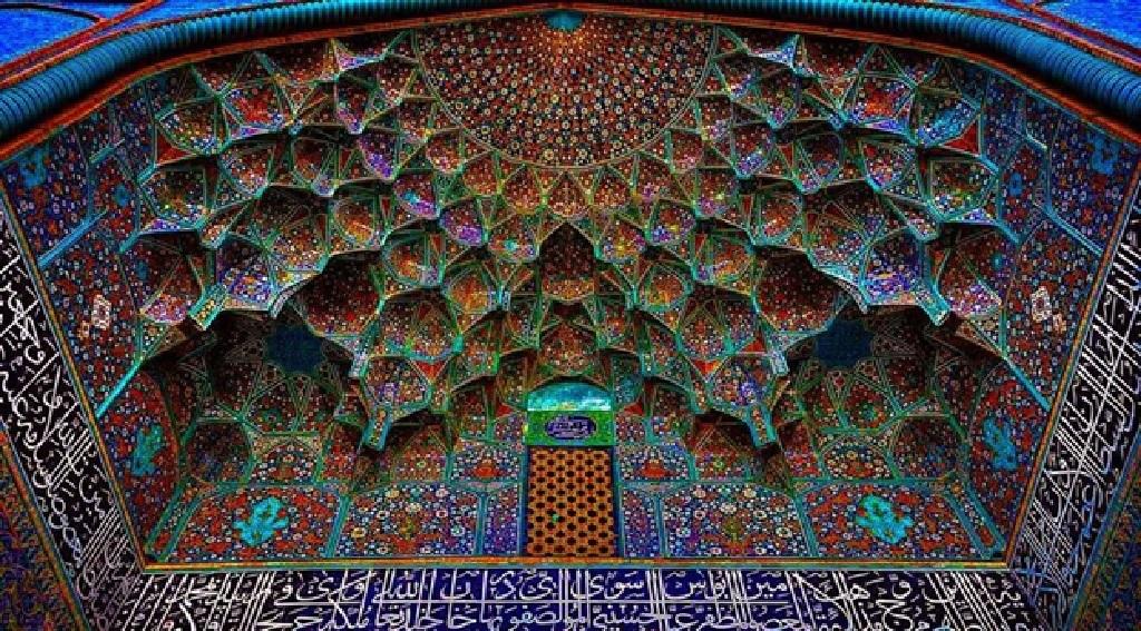 کاشی سنتی اصفهانی