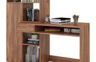 کتابخانه و میز تحریر ایده ای بی نظیر در دکوراسیون اتاق